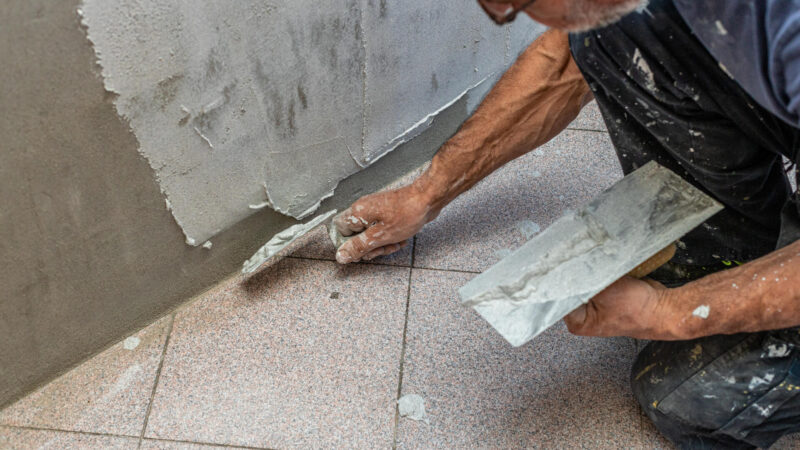 Stained Concrete Refinishing